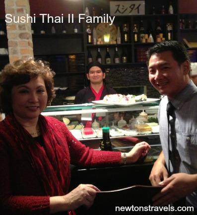 sushi thai family