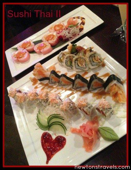 sushi thai valentines