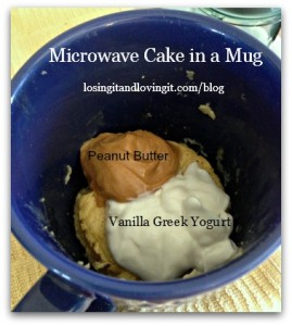 Microwave Cake in a Mug