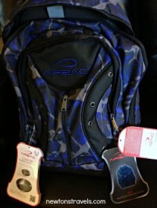 AIRBAC travel backpack