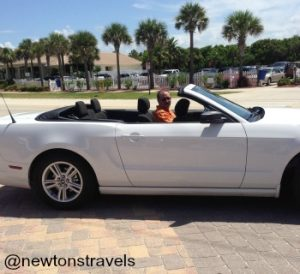 Kev in convertible