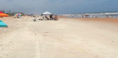 Ormond by the Sea, FL beach