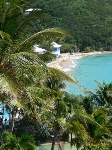 Beach at Morning Star Beach Resort, Marriott, St. Thomas, USVI