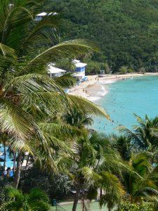 Beach at Morning Star Beach Resort, Marriott, St. Thomas, USVI