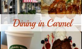 Dining in Carmel