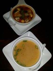Sushi Thai soup