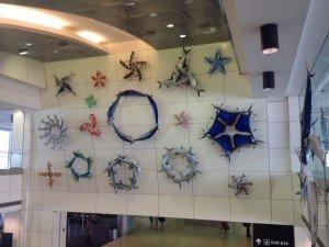 Miami Airport Decor