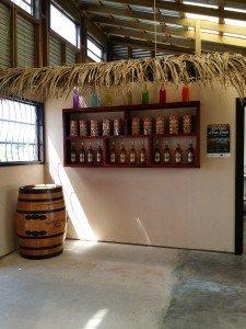 Inside Roatan Rum Company