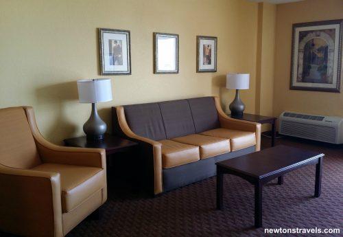 Daytona Inn Seabreeze Living Area