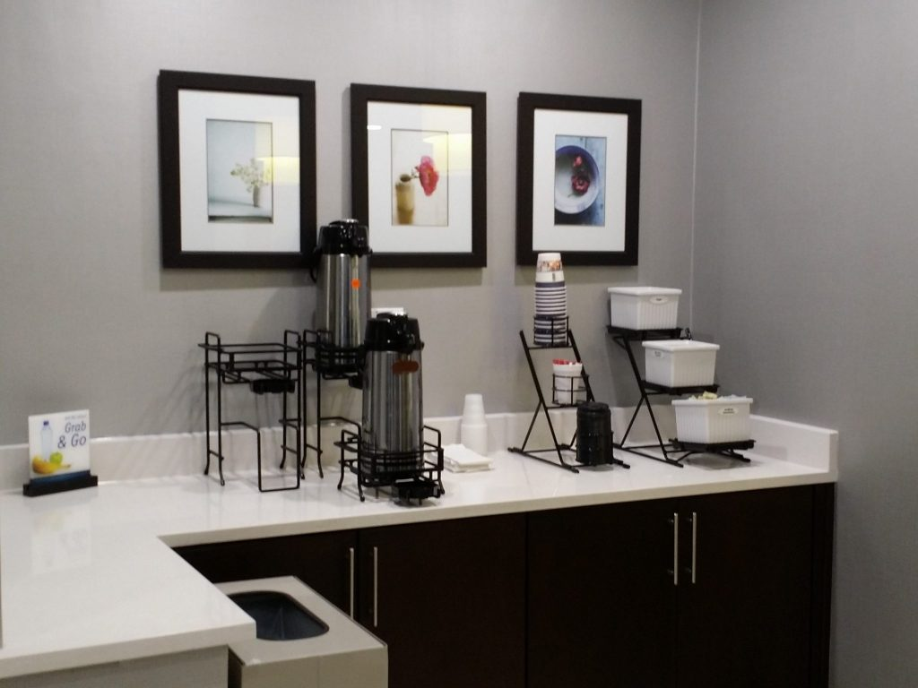 Front Desk Coffee Tea Bar