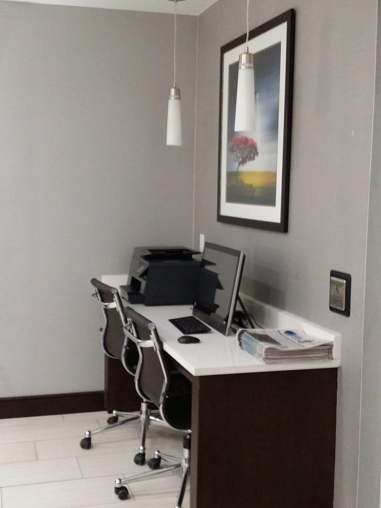 Front Desk Computer Area