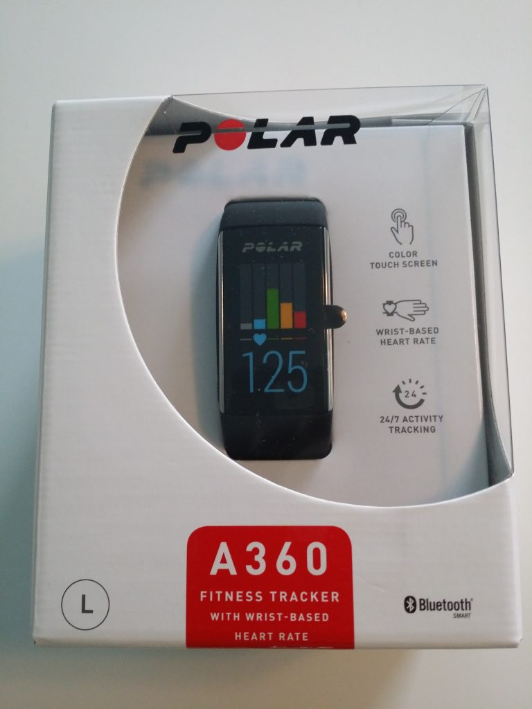 My Polar A360 Personal Fitness Tracker