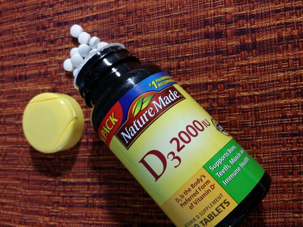 Nature Made D3 2000 IU
