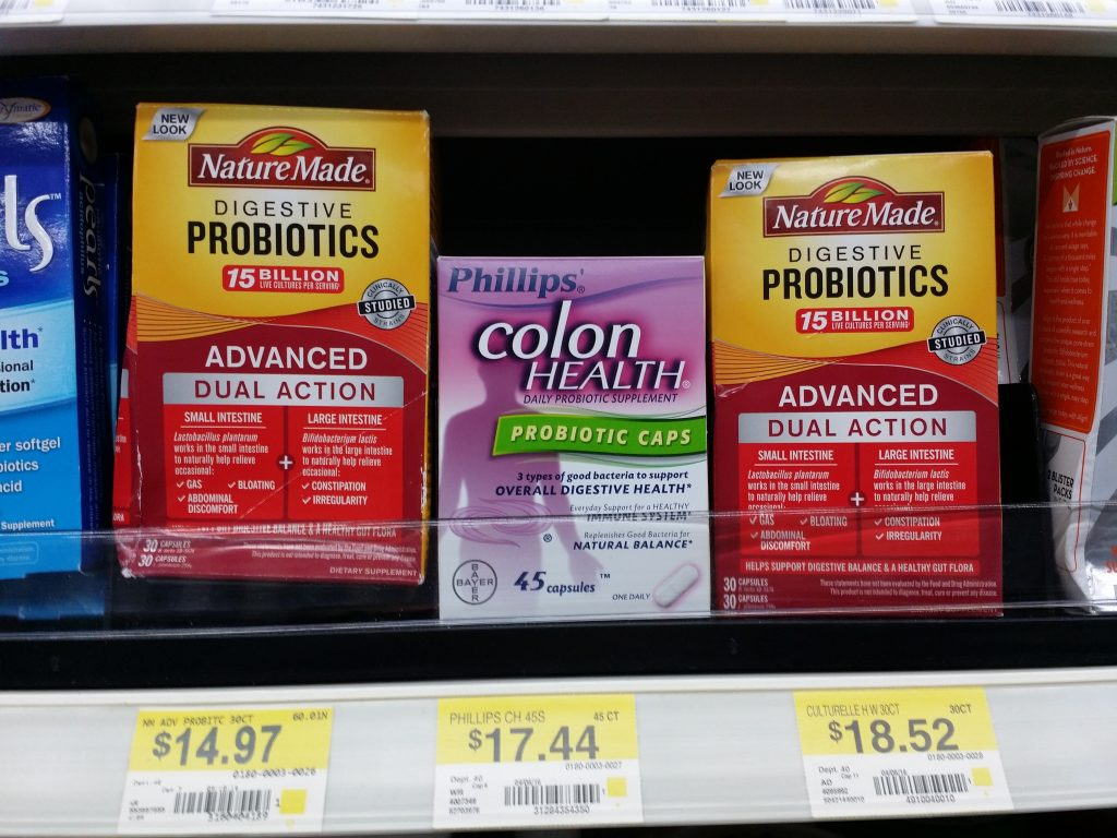 Nature Made Probiotics at Walmart