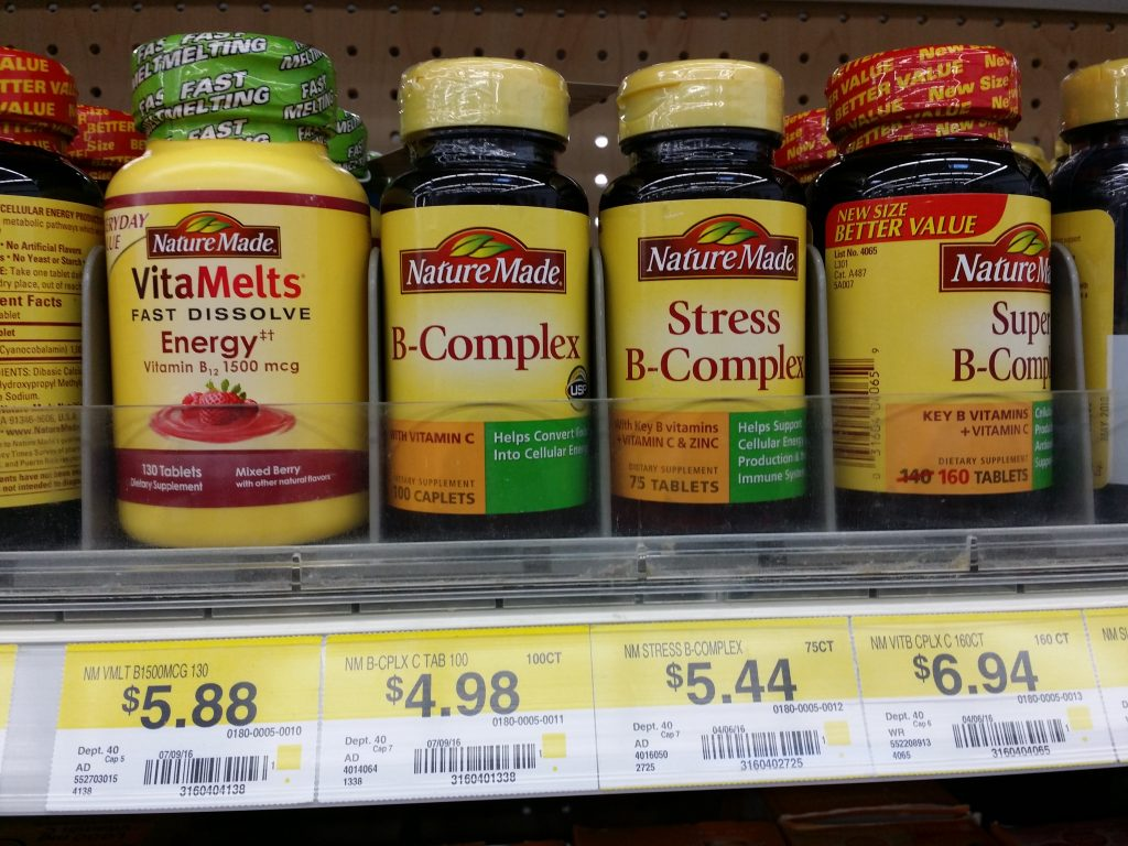 Nature Made Stress B Complex and Supplements