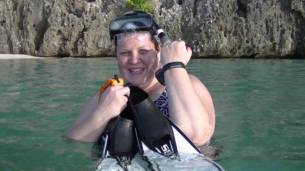 Snorkeling in Roatan