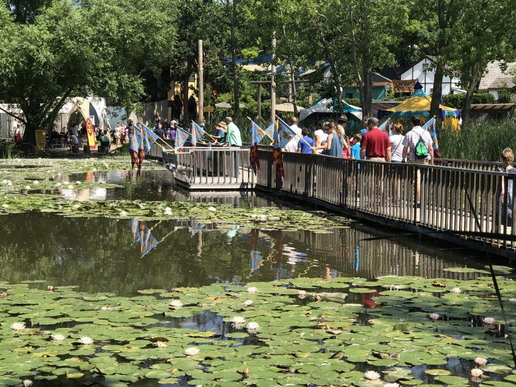 Bridge at Bristol Renaissance Faire