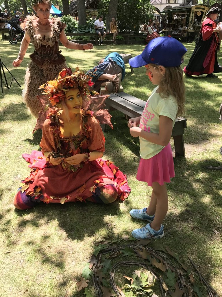 Fairy at Renaissance Faire
