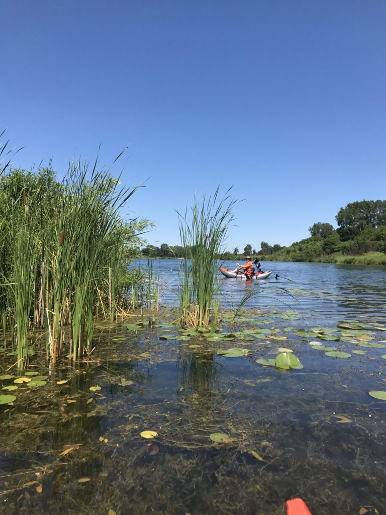 Kev on Sterling Lake