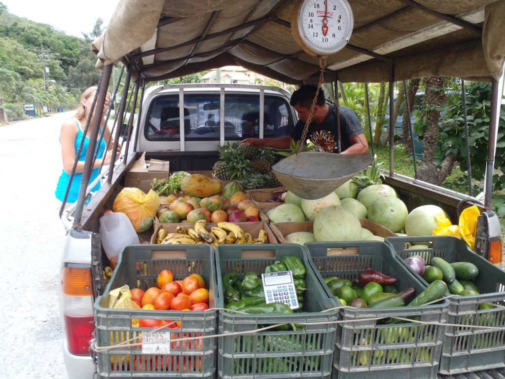 Roatan Fruit Truck