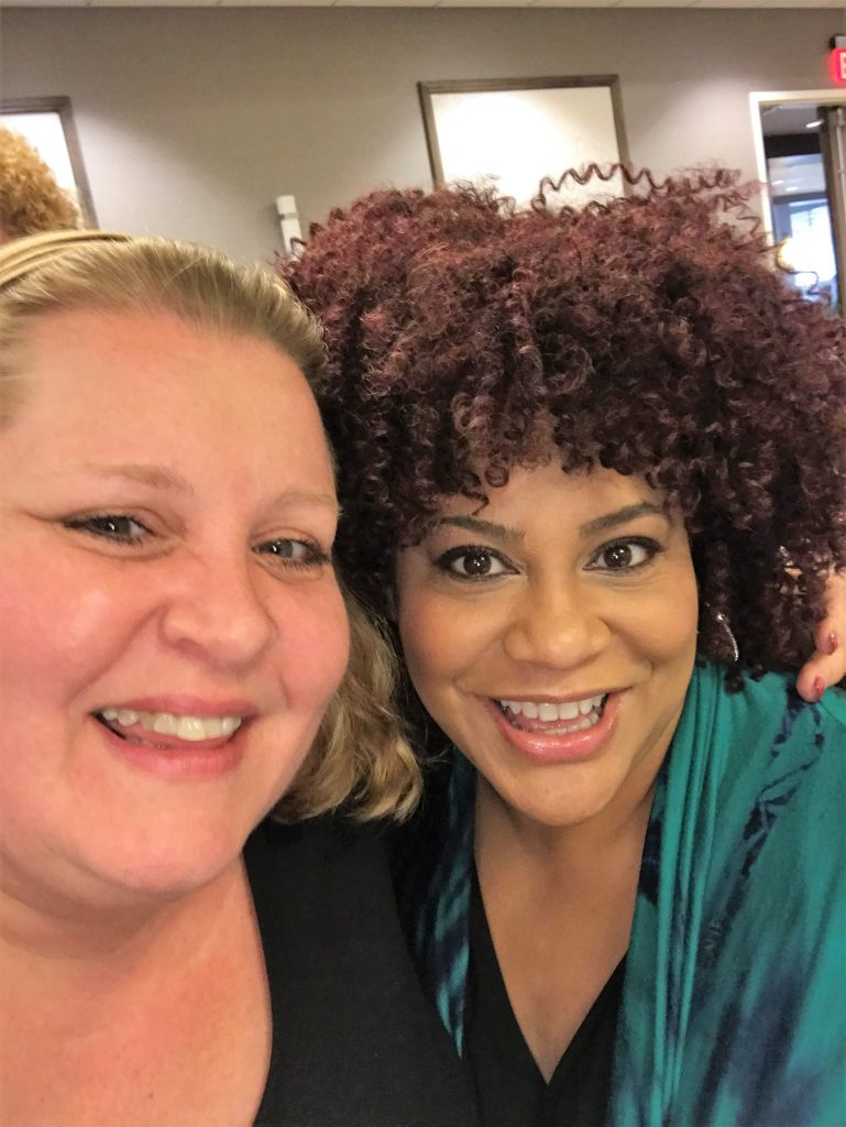 Angie and Kim Coles