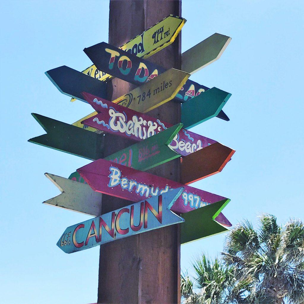 Fun Sign at Ocean Deck