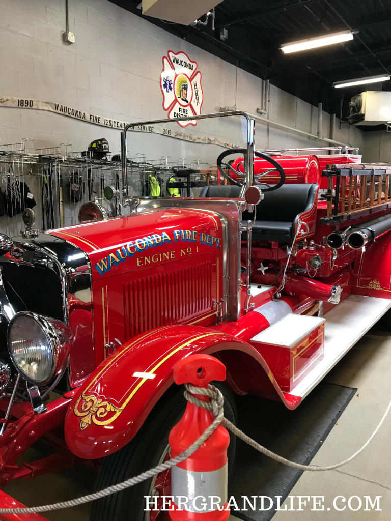 Old Fashioned Fire Truck