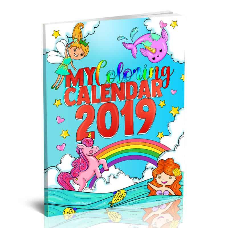Color Happy Calendar
