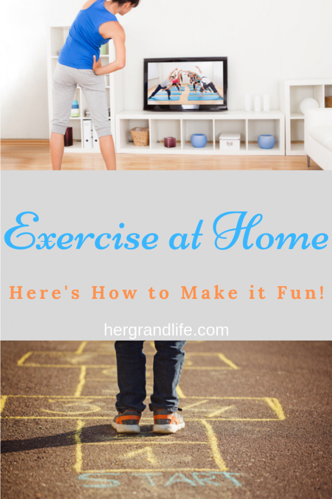 Exercise at Home: Here's how to make it fun.