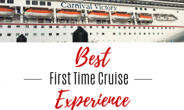 Best First Time Cruise Experience
