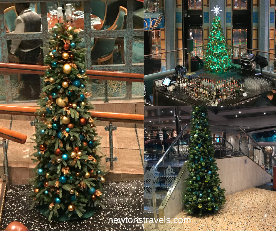 Holiday Season on the Carnival Victory