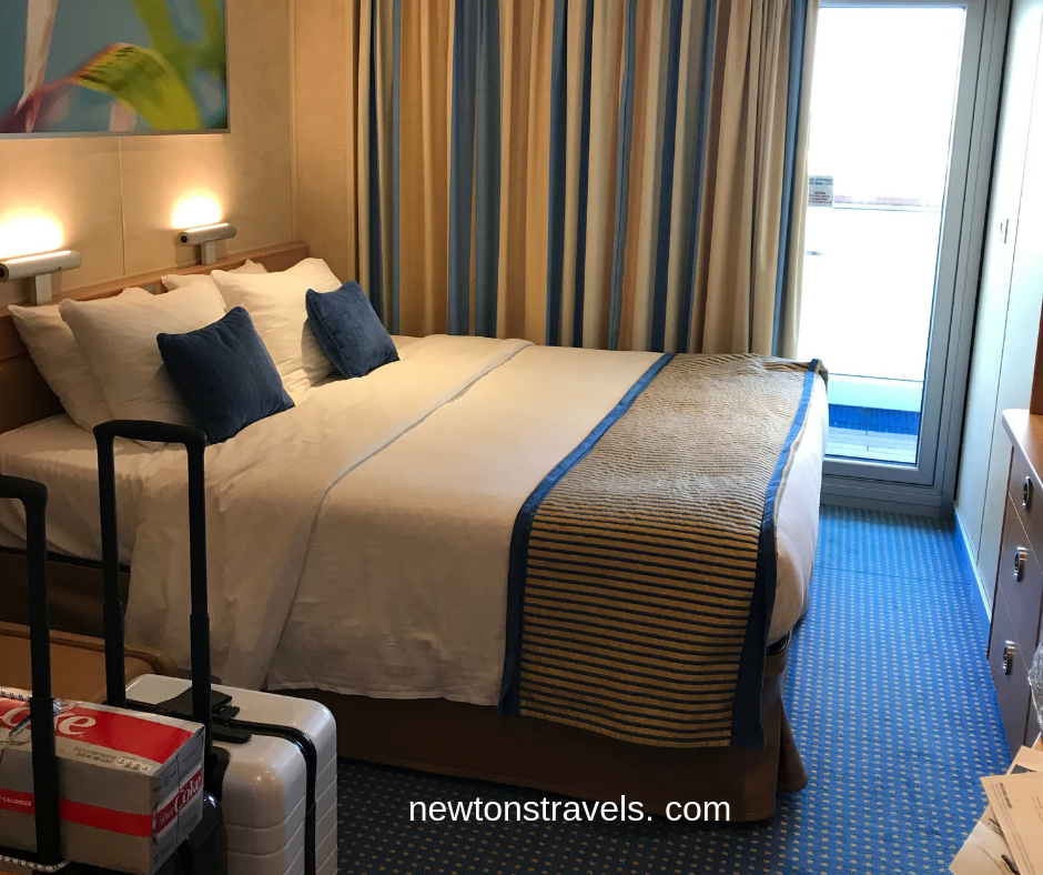 Carnival Victory Stateroom with Balcony the best first time cruise experience!