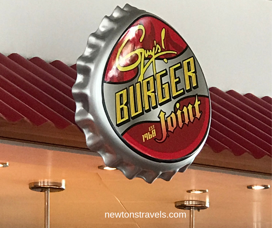 Guy's Burger Joint on Carnival Victory