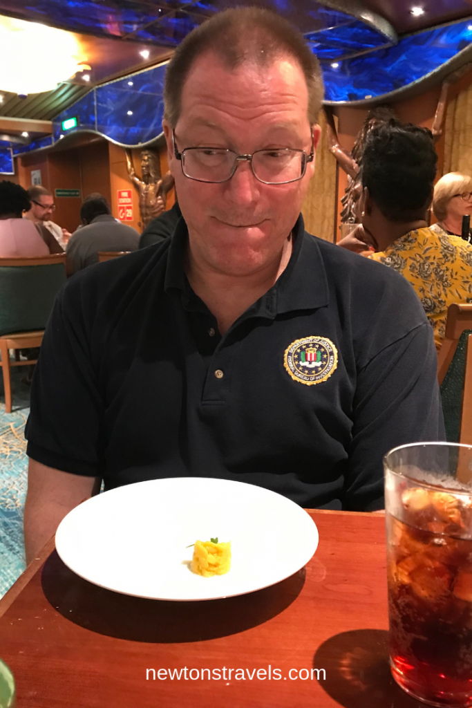 Best first time cruise experience: Dining on Carnival Cruiseline