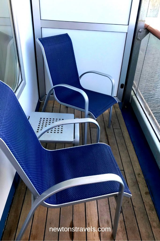 Carnival Victory's Stateroom Balcony