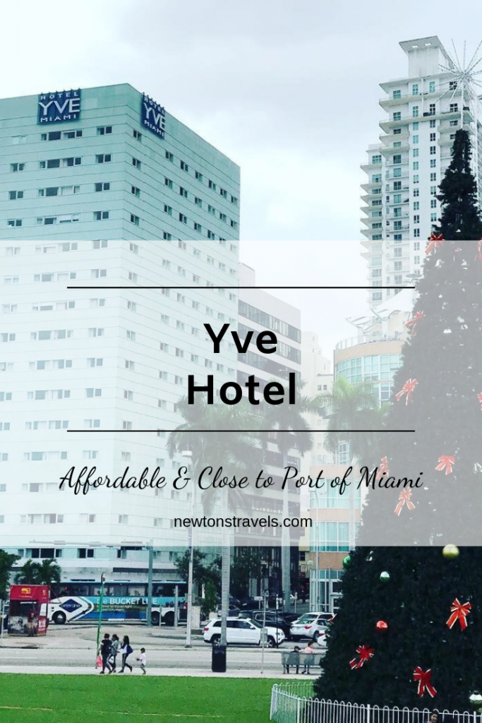 Our stay at the Yve Hotel Miami Florida