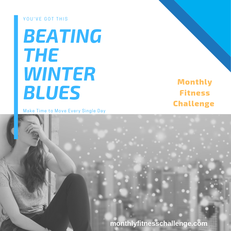 Beating the Winter Blues fitness challenge.
