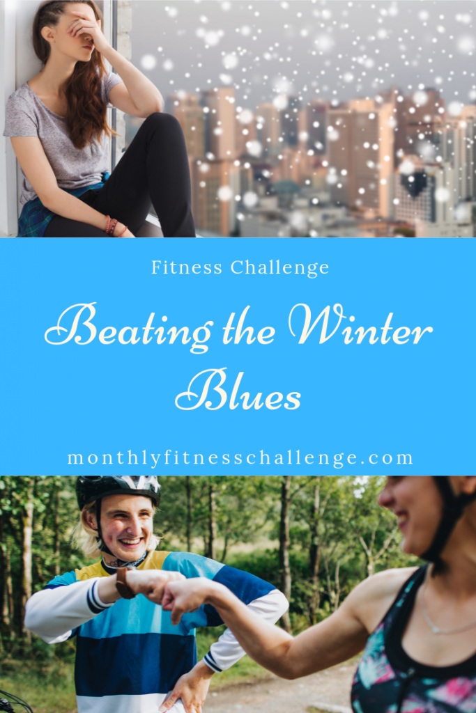 Beating the Winter Blues monthly fitness challenge.