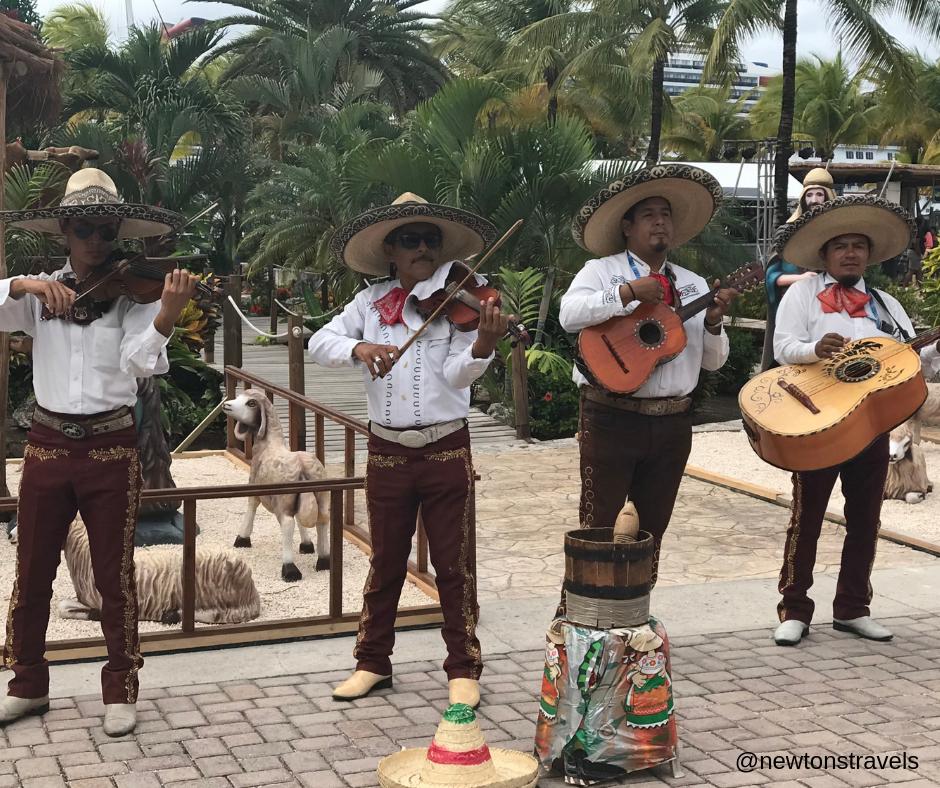 Mariachi band, Cozumel, Mexico