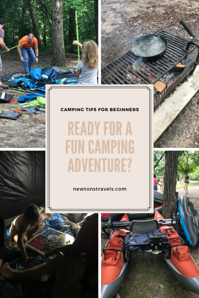 Ready for a fun camping adventure? Get our camping tips for beginners!