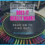 Mini Trampoline Rebounder Tips