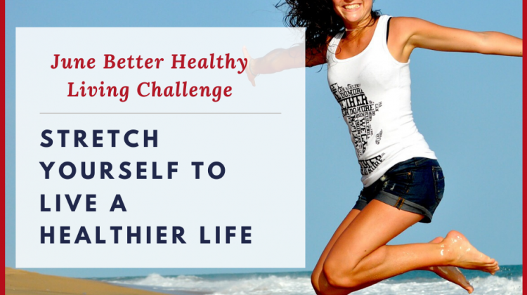 Live a Healthier Life Monthly Challenge
