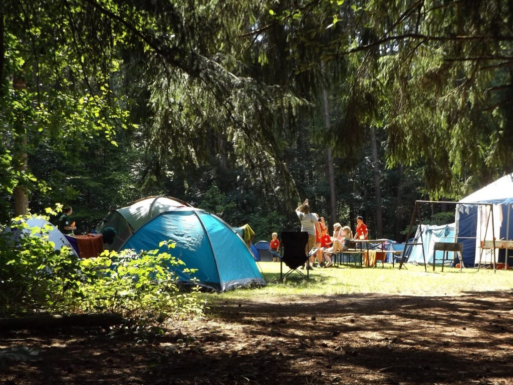 First time camping tips for campground camping