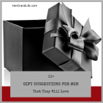 Gift Suggestions for Men