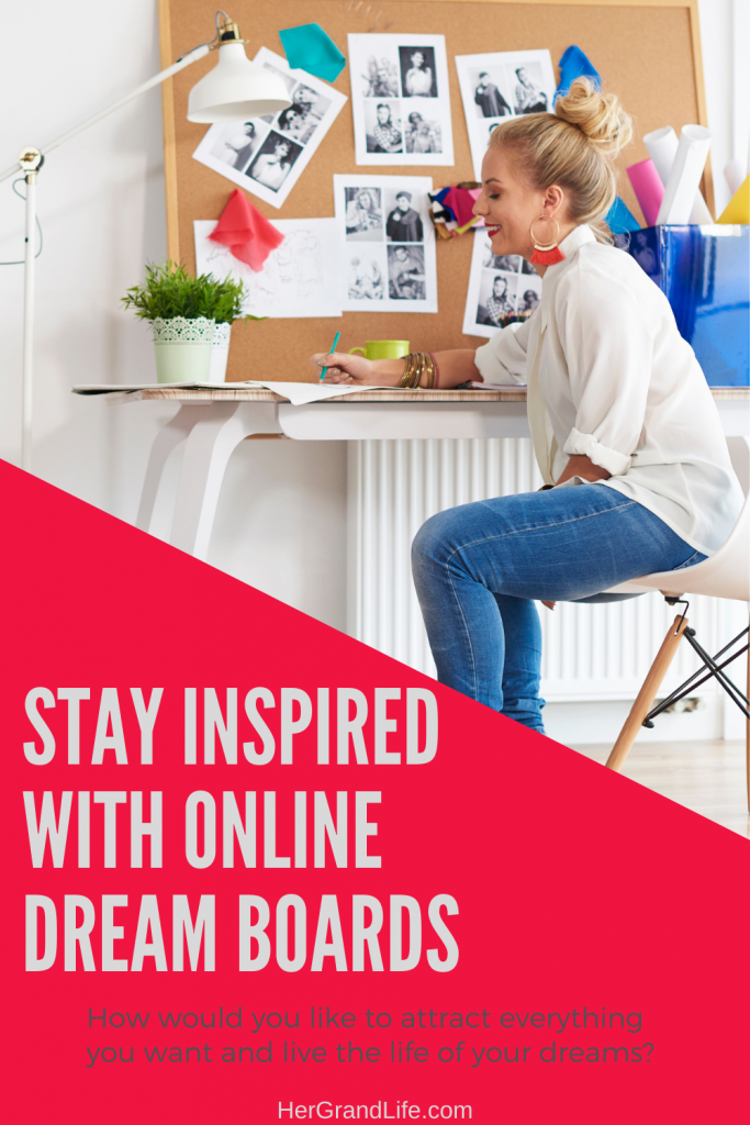 Online dream boards.