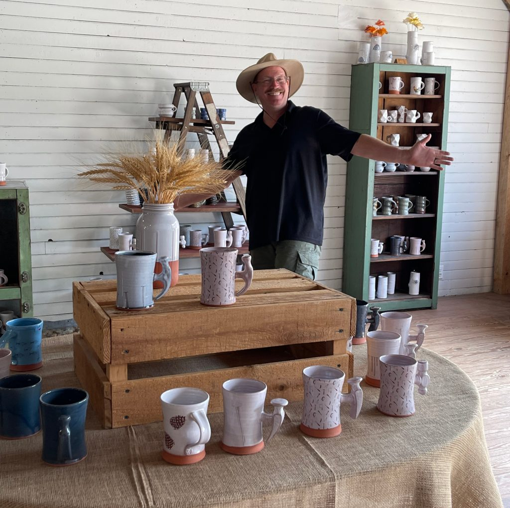 Riverwood Pottery store Shipshewana, Indiana